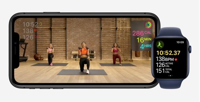 Apple hardware event-fitness