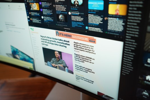 Dell's 40-inch curved monitor is perfect for a home office command center – TechCrunch 3