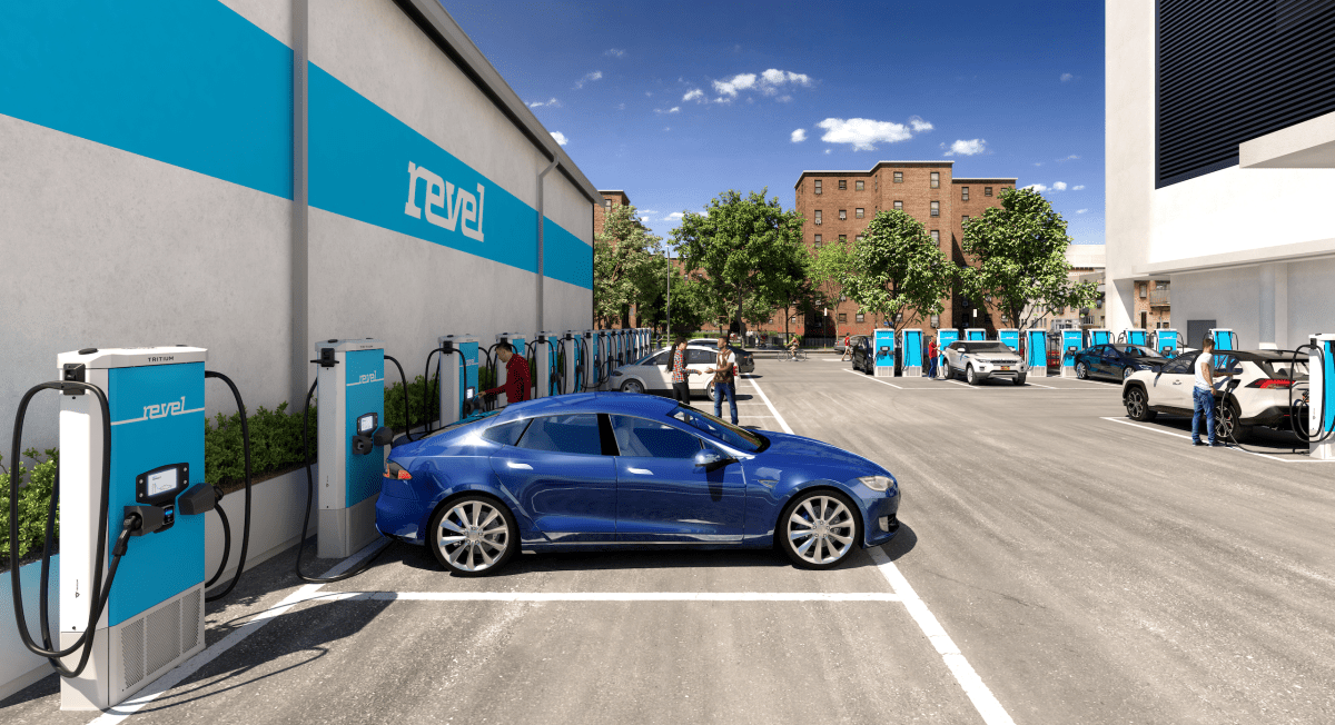 revel ev chargers