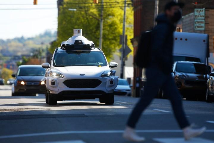 Argo AI self-driving vehicle