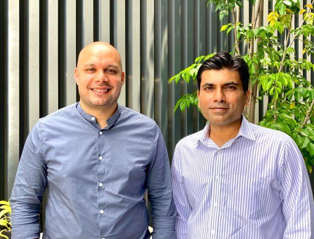 Fewcents co-founders Dushyant Khare and Abhishek Dadoo