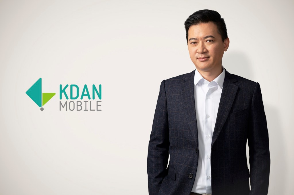 Kdan Mobile founder and CEO Kenny Su