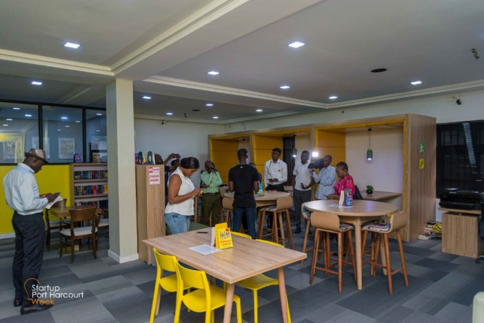 Startup Port Harcourt Week 2019 - The Book Pod