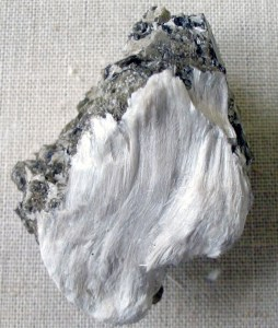 Asbestos with muscovite.