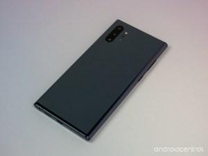 Note 10 Aura Black color