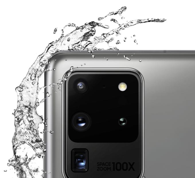 Samsung Galaxy S20 Ultra water-proof design