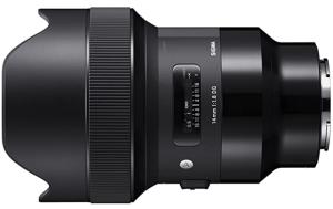 Sigma 14mm f1.8 Art DG HSM Lens