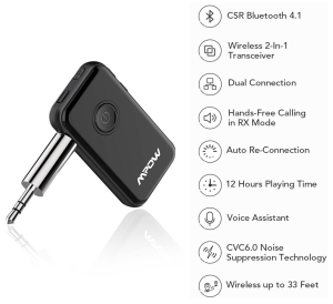 Mpow Bluetooth transmitter and receiver