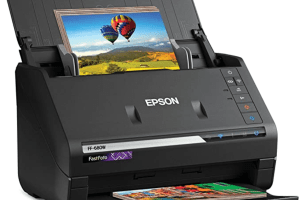 Epson FastFoto FF-680W Wireless High-Speed Photo and Document Scanner