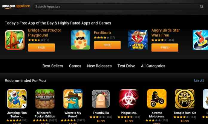 "Amazon App store - ""7 best Play store alternatives"""