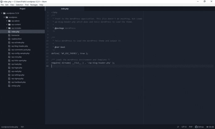 """Atom - """"Top-5 Free Best HTML Editors for Windows and Mac"""""""