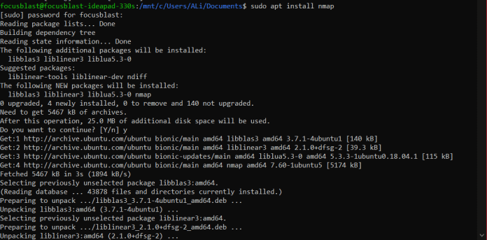 """nmap - """"How to easily remote control Linux from any OS"""""""