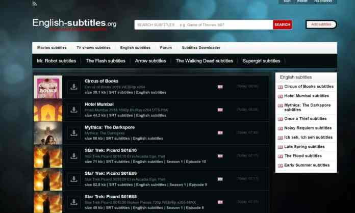 "English Subtitles - ""10 Best Sites To Download Subtitles For Movies For Free"""
