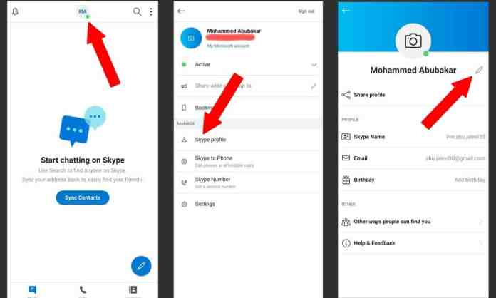 "Skype Mobile - ""Here's How To Change Your Skype Username [Step-By-Step]"""