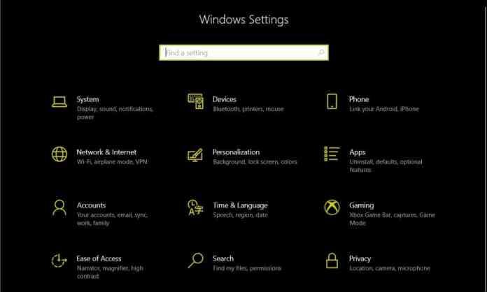 "Windows Settings - ""Block Windows 10 Feature Updates"""