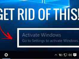 Activate Windows Watermark