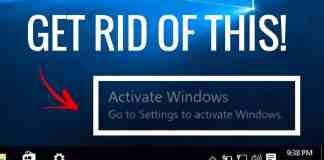 Activate Windows Watermark
