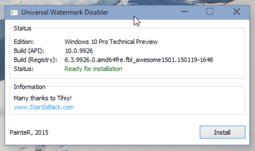 Universal Watermark Disabler: Remove Activate Windows Watermark