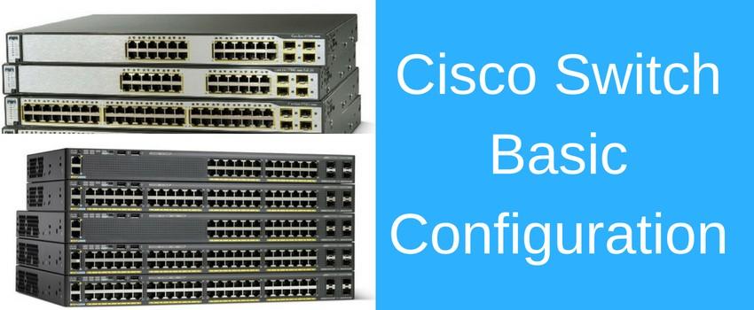Basic Cisco Switch Configuration