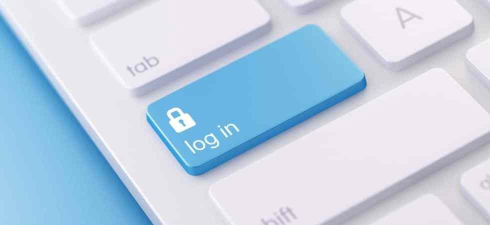login keyboard feature