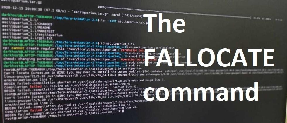 fallocate