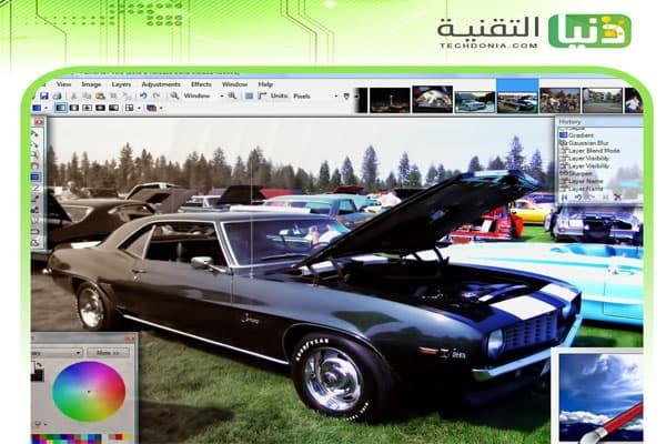 برنامج تعديل الصور Paint.NET