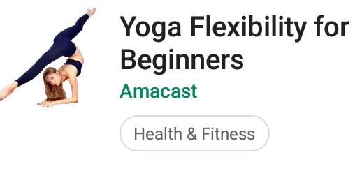 Yoga Flexibility for Beginner