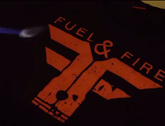 "TECHDRIVE | FUEL & FIRE ""BURN RUBBER, NOT SKIN"""