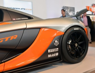 McLaren P1 GTR: 2014 Pebble Beach