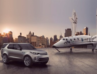 WIN A SPACE ADVENTURE TRIP WITH LAND ROVER AND VIRGIN GALATIC