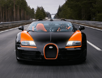 DJ Afrojack Hits 200MPH in a Bugatti Like It's No Big Deal
