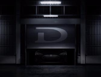 "Tesla CEO Elon Musk reveals the ""D"""