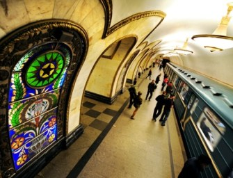 Moscow Metro Riders Get Free eBooks