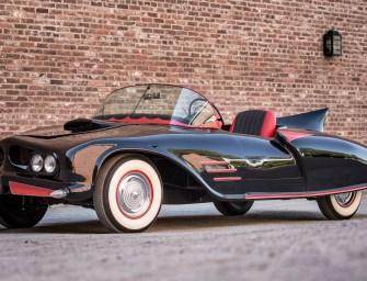 Holy Heritage Batman! Historic Batmobile Up For Sale