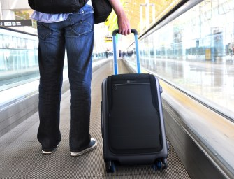 Hands-On World's First Smart Connected Suitcase