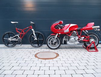 How A Ducatista Makes His Two-Wheel Non-Motor Toy