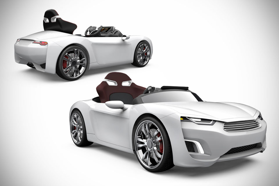 This Electric Sports Car Is Just For Kids Techdrive