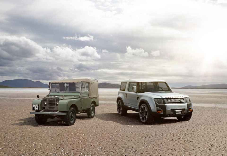 Land Rover Defender and Disco