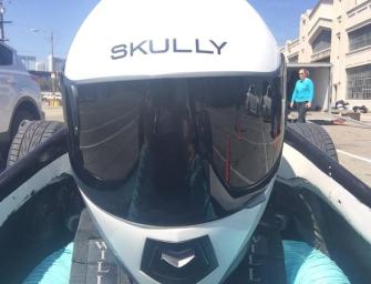 Is SKULLY, Ready To Move Beyond Motorcycle Helmets, And Hit The Track?