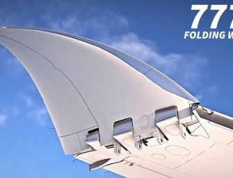 Boeing's Folding Wingtips Gets Approval From The FAA