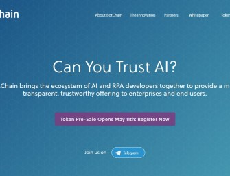 BotChain Wants To Be The Blockchain For Registering Bots