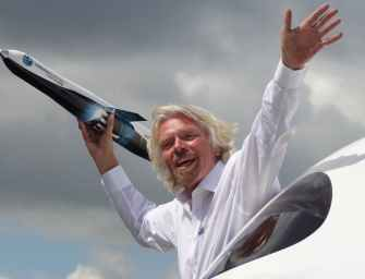 Astronaut in The Making? Sir Richard Branson is Getting Ready To Go To Space