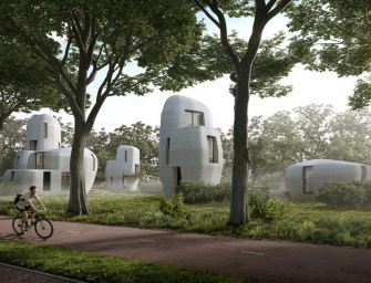 World's First 3D-Printed Concrete Housing Project to be Built in the Netherlands