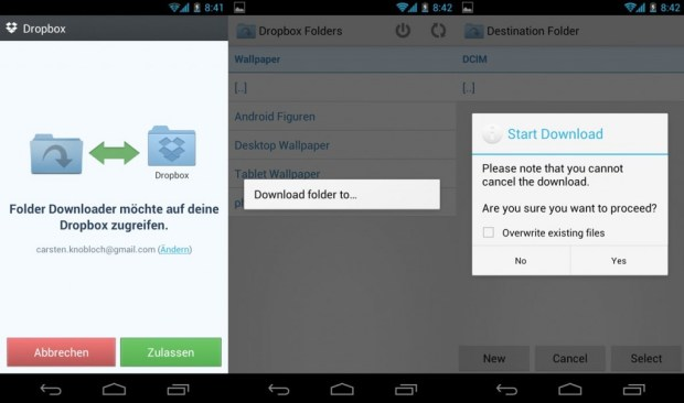 Dropbox-Folder-Downloader