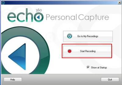 echo-personal-capture-start recording