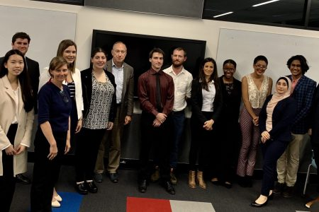 people from the Macquarie University Research Internship