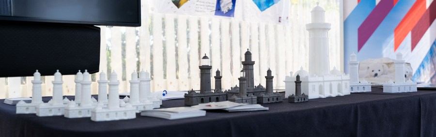 photo of 3d printed lighthouses