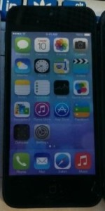 leak photo of iphone 5S