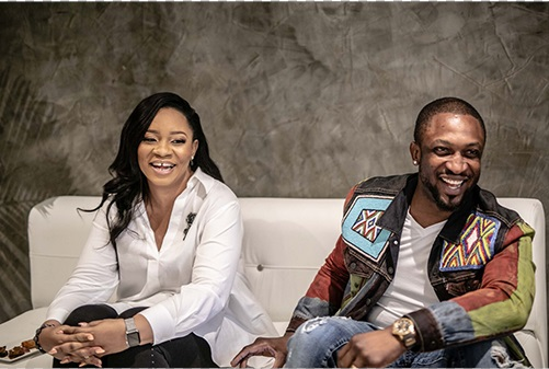 Dare Art-Alade and-wife