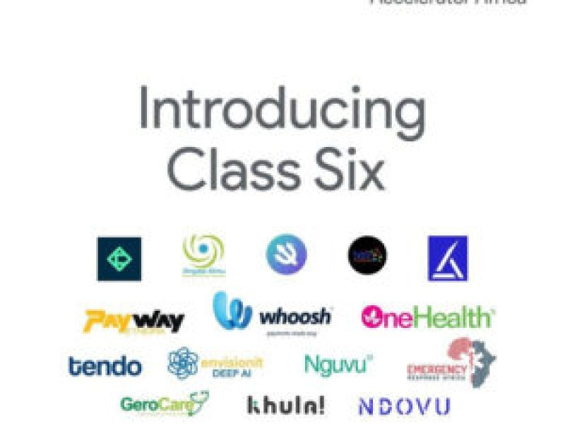 Google for Startups Accelerator Class Six Demo day